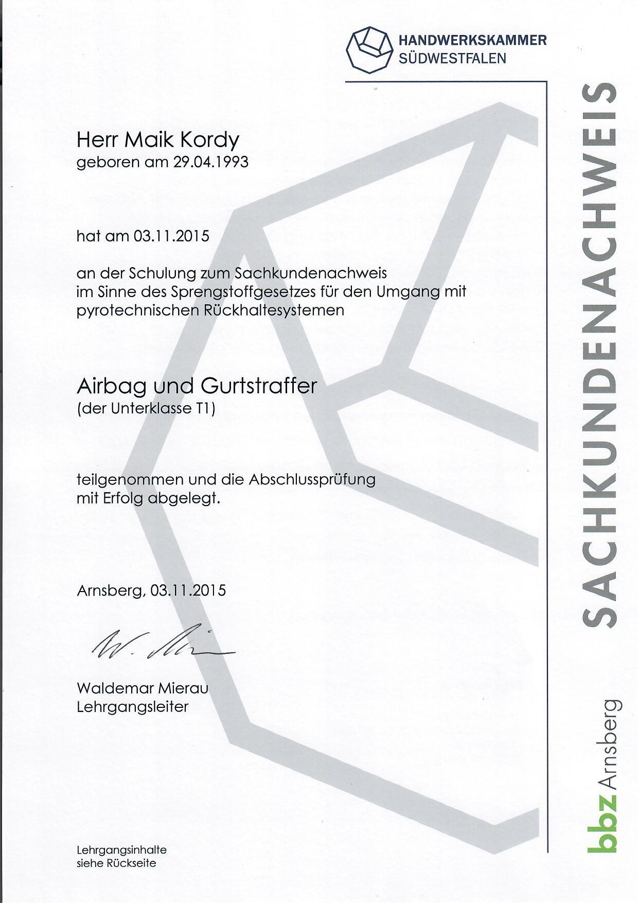 Zertifikate - Zertifikate